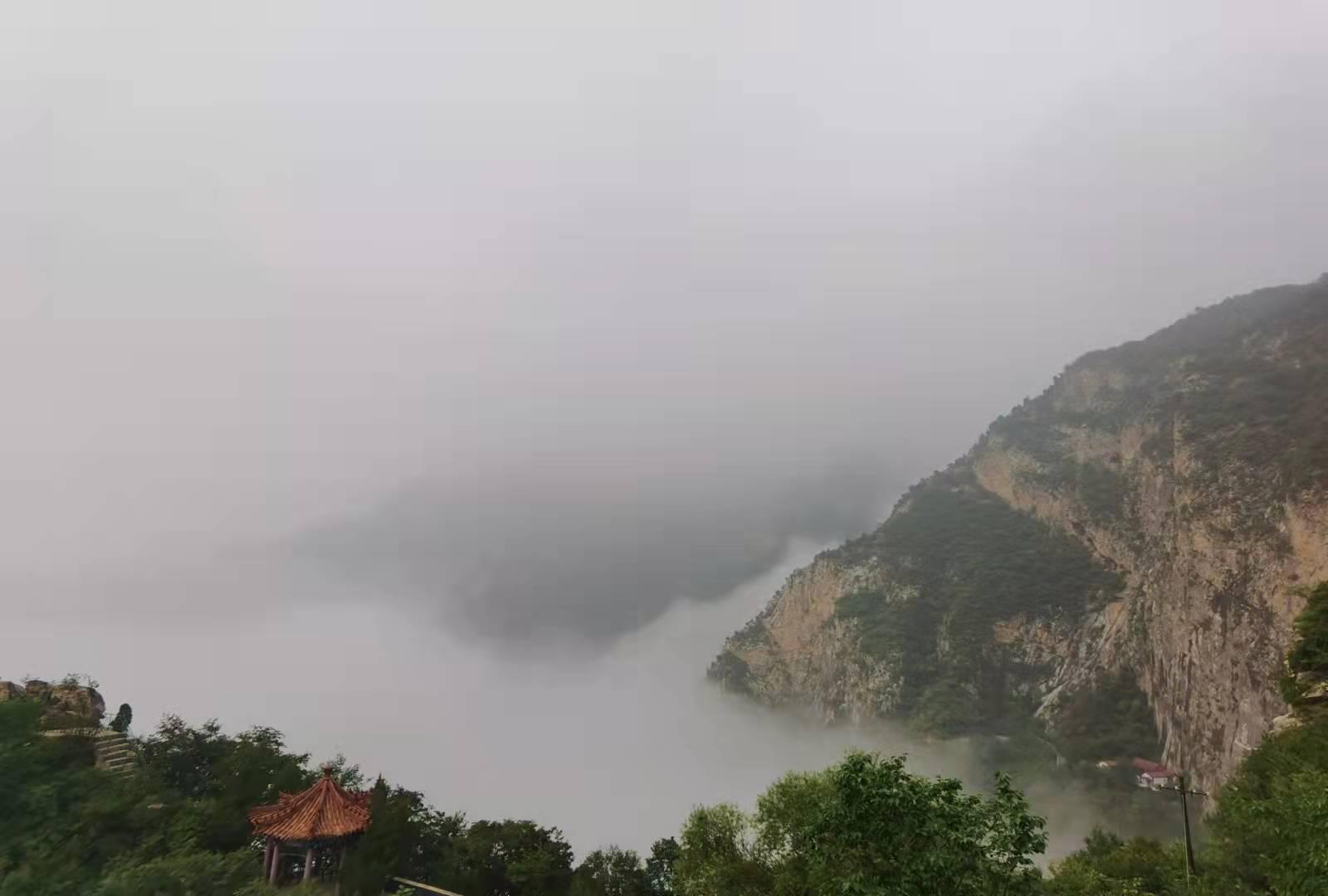 圣莲山云海